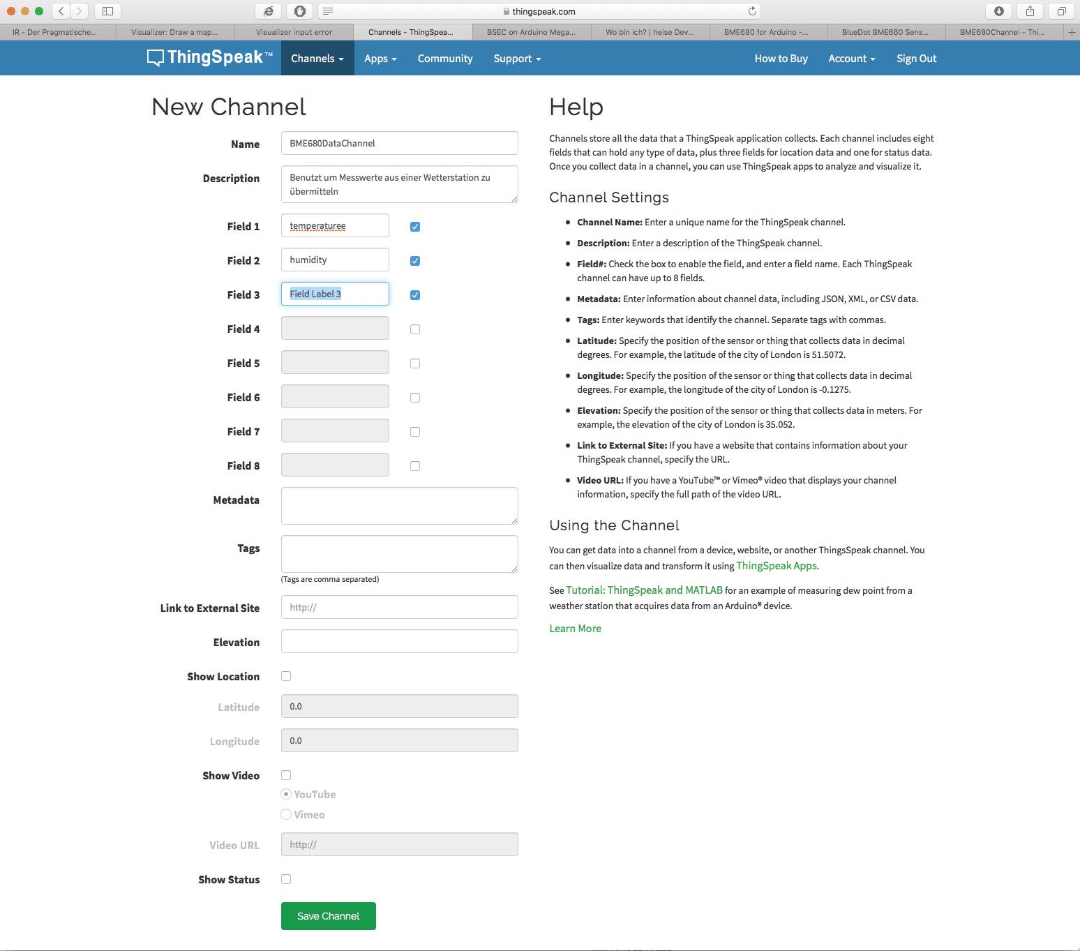 Teilnehmer können ihre eigenen Kanäle anmelden