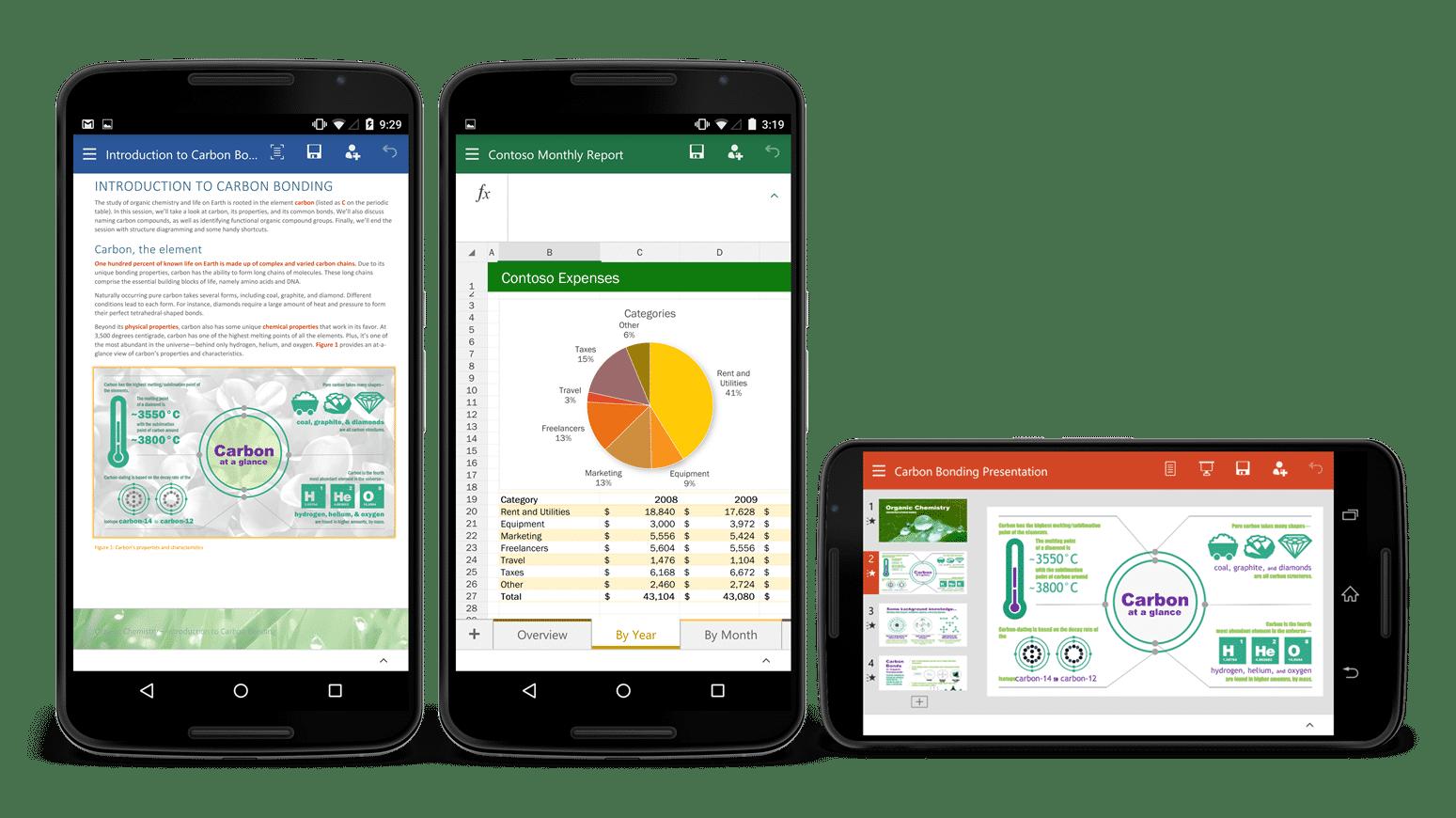 Neue Microsoft-Office-Apps für Android-Smartphones als Preview erhältlich