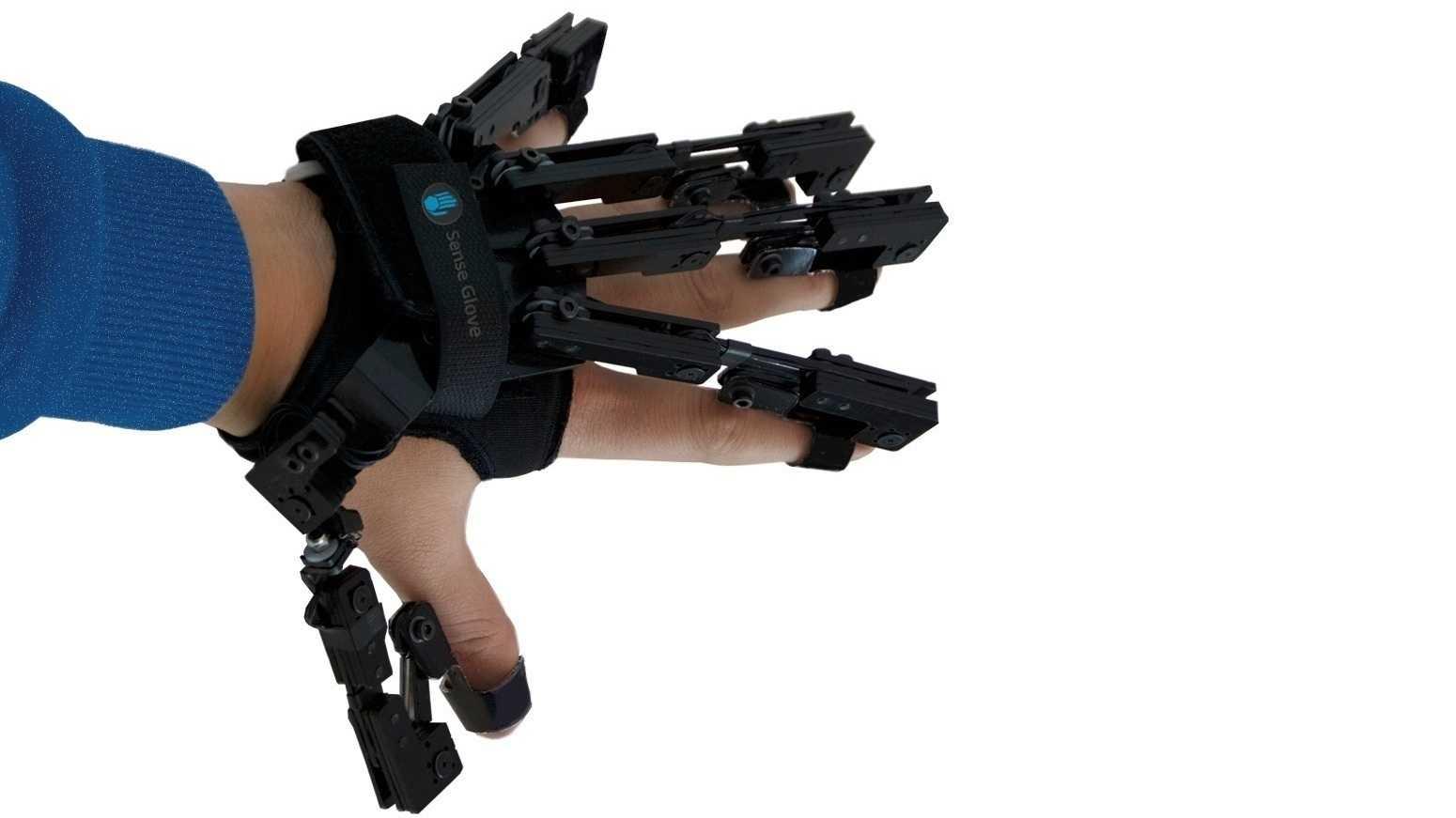 VR-Handschuh mit haptischem Feedback