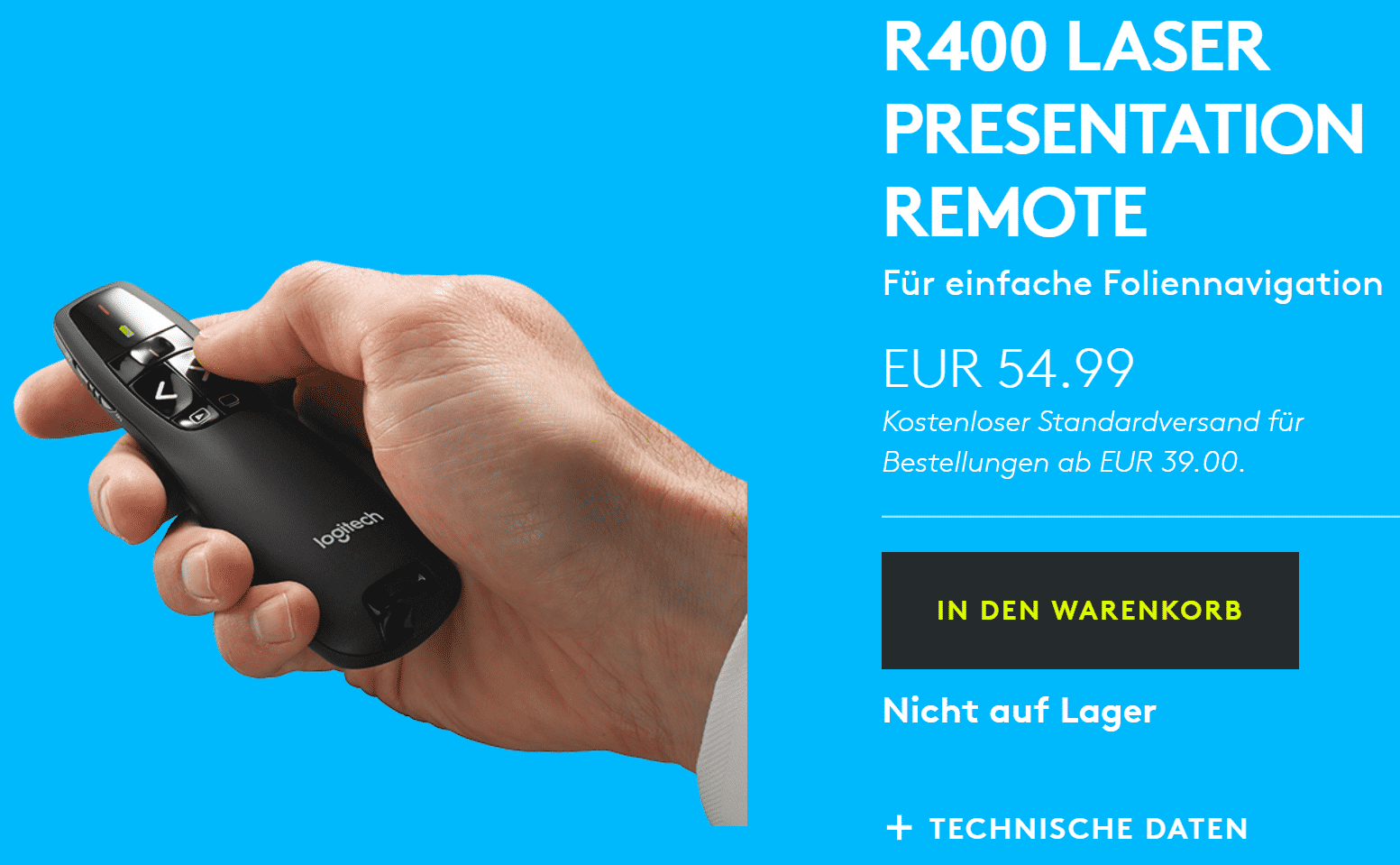 Logitech-Website