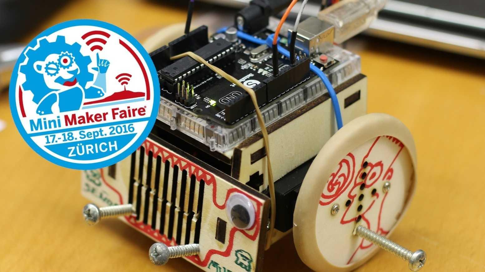 Erste Maker Faire in der Schweiz startet nächstes Wochenende in Zürich