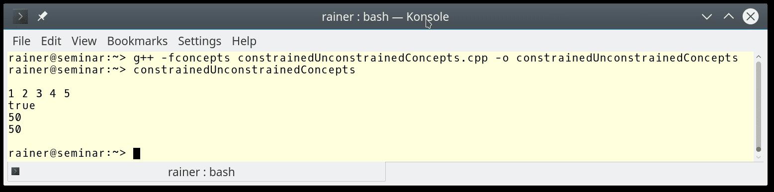 C++ Core Guidelines: Regeln für die Anwendung von Concepts