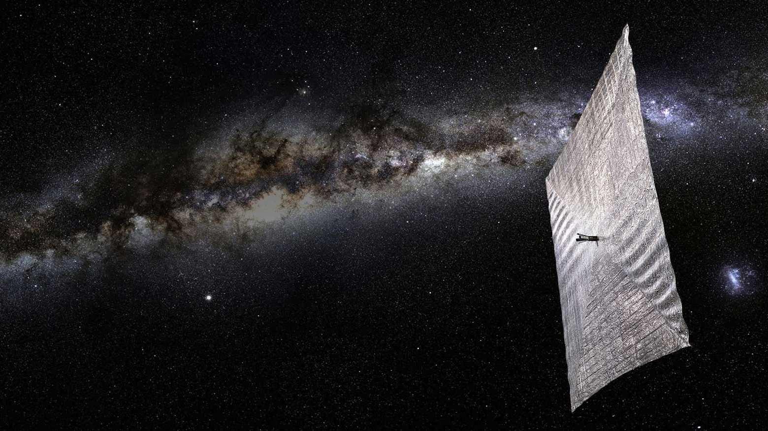 Experimentalsatellit LightSail 2: Sonnensegel aufgefaltet