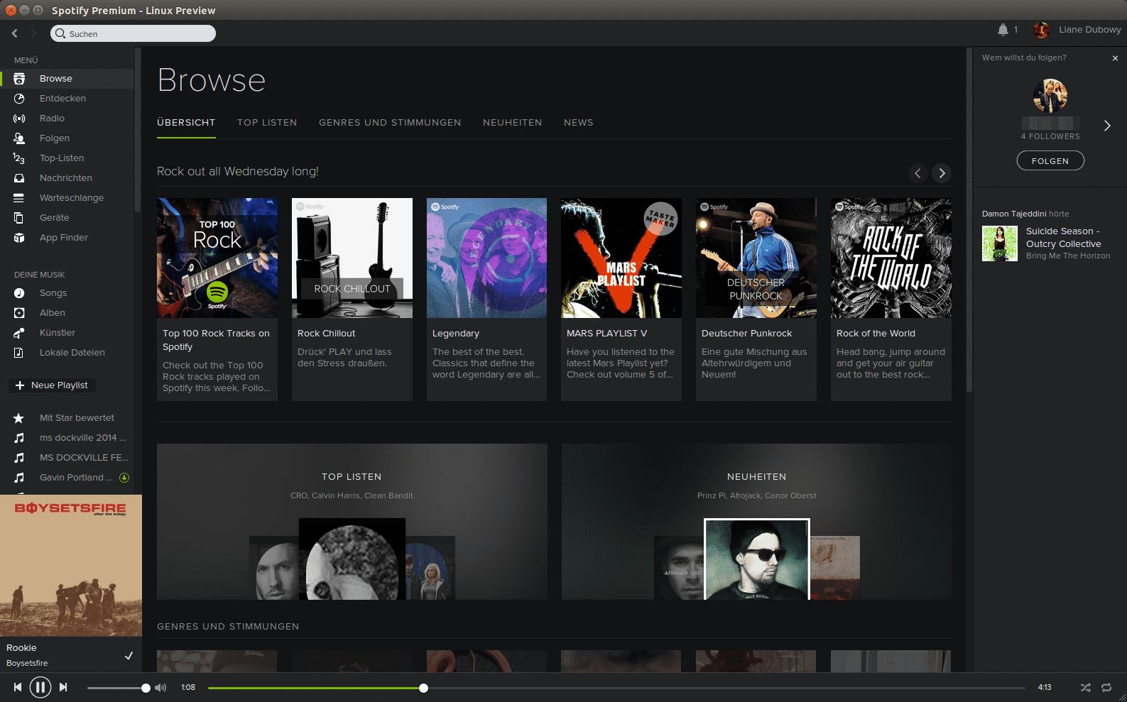 Spotify Linux client download