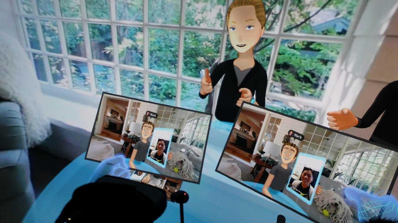 Virtueller Besuch bei Zuckerbergs