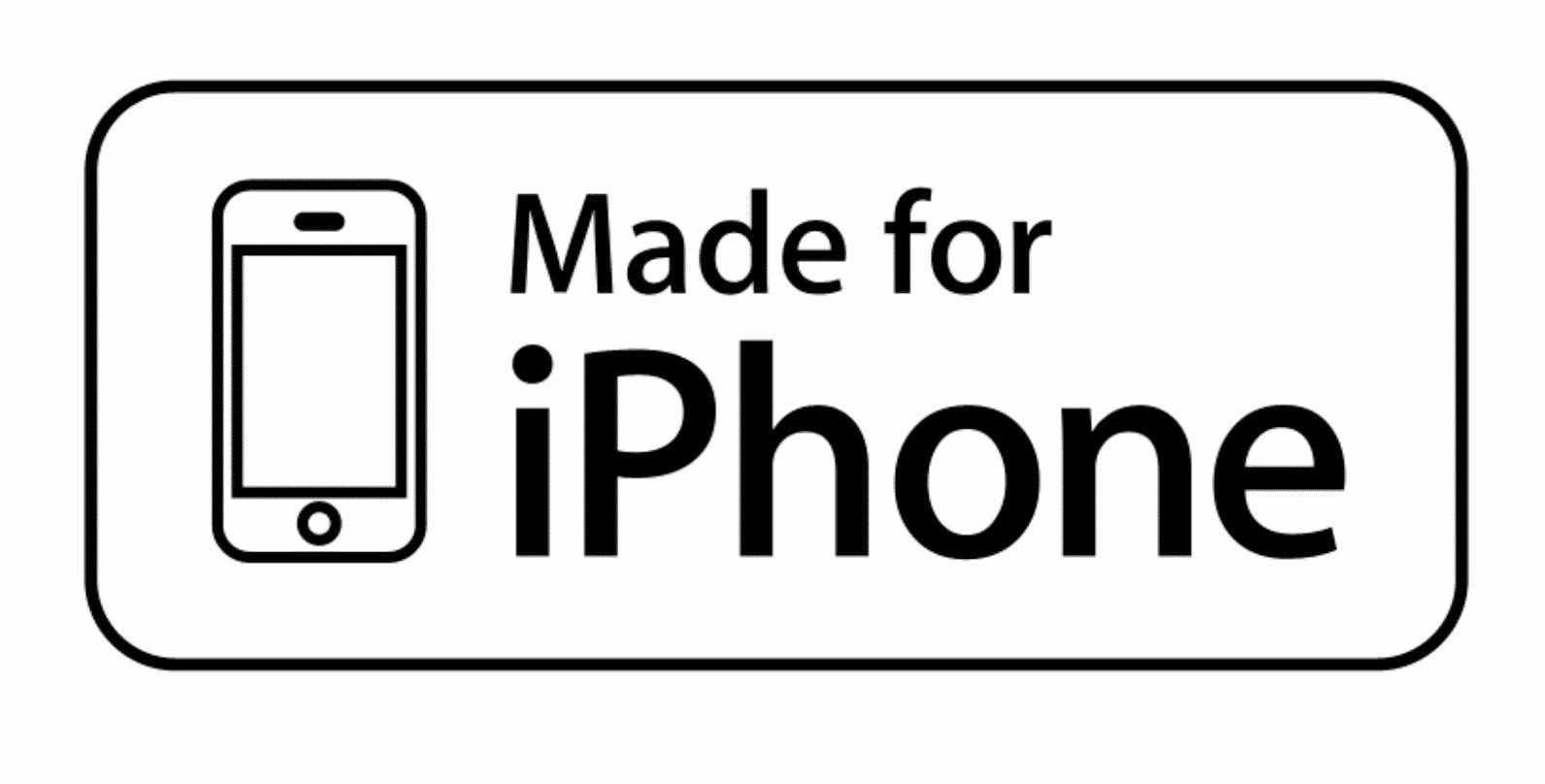 Accessoire-Hersteller, die Teil von Apples MFi-Programm sind, dürfen ihre Produkte mit einem entsprechenden Logo kennzeichnen.