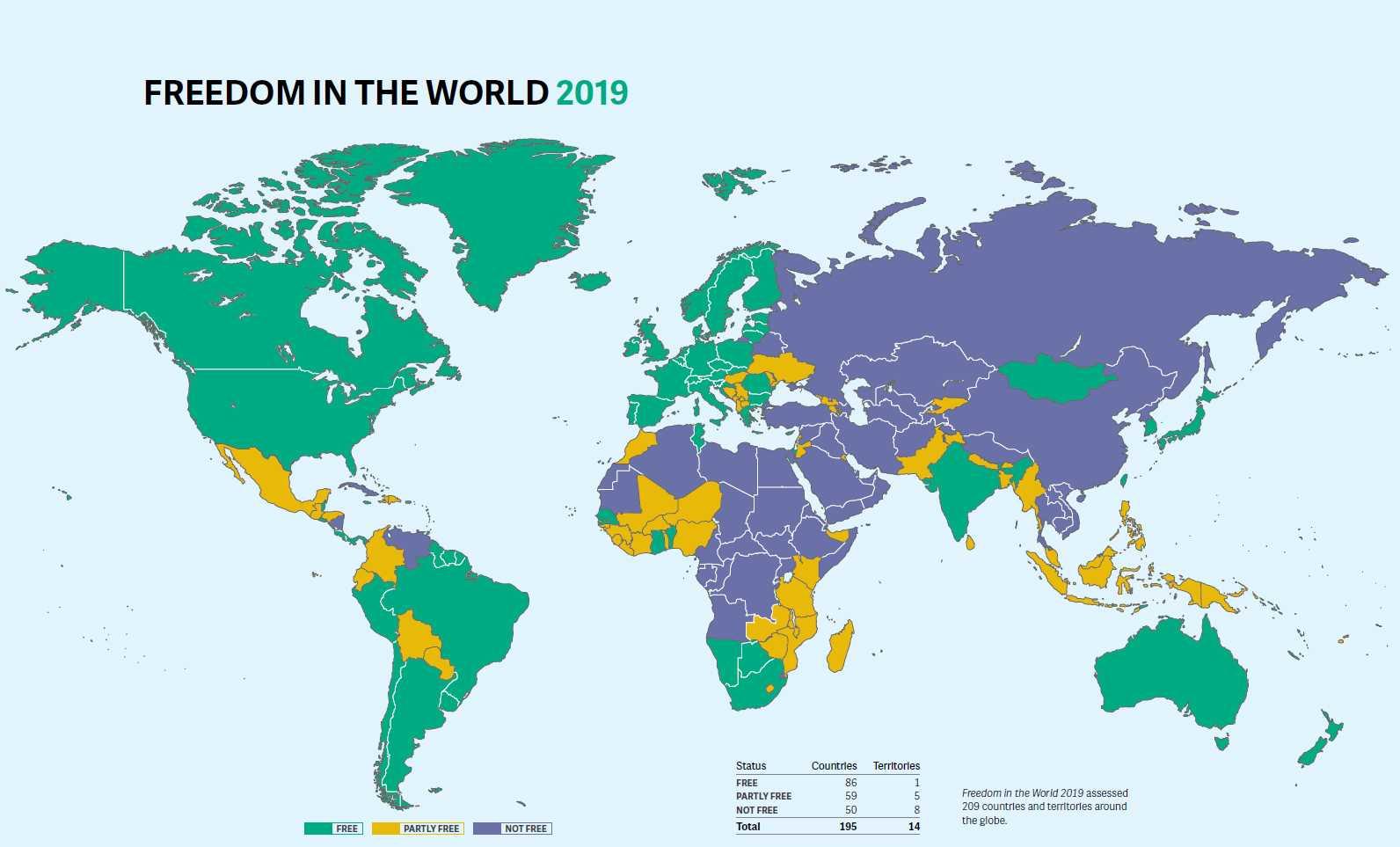 Der Zustand der Demokratie weltweit
