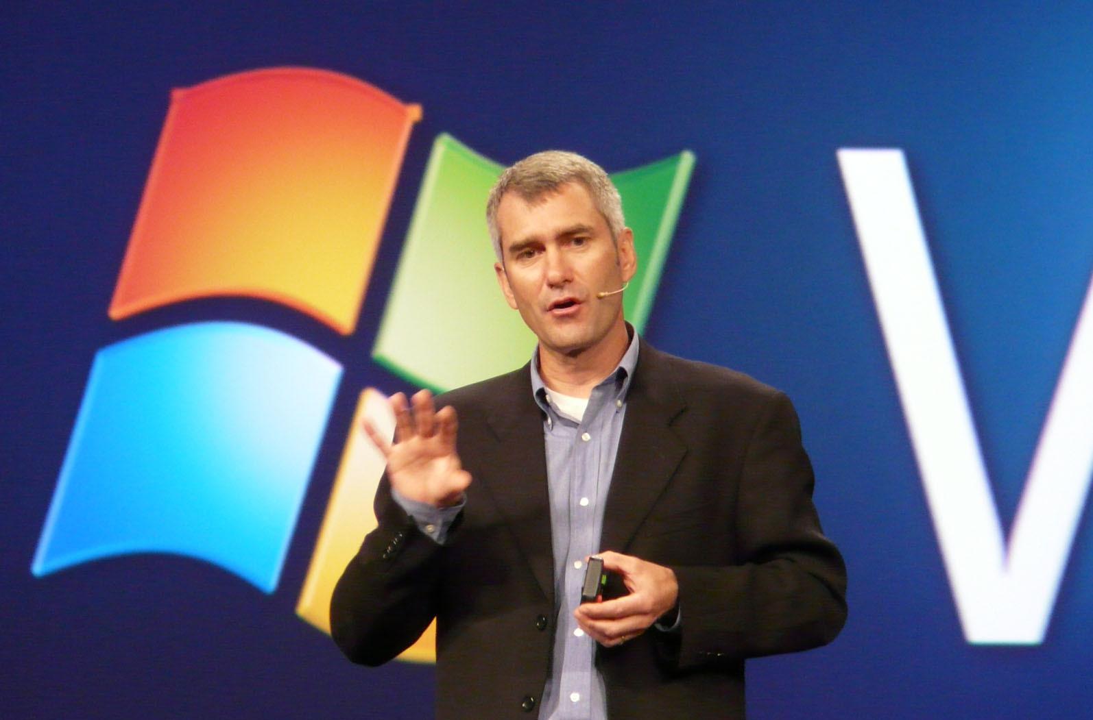 Bill Veghte, SVP Windows Business, Microsoft