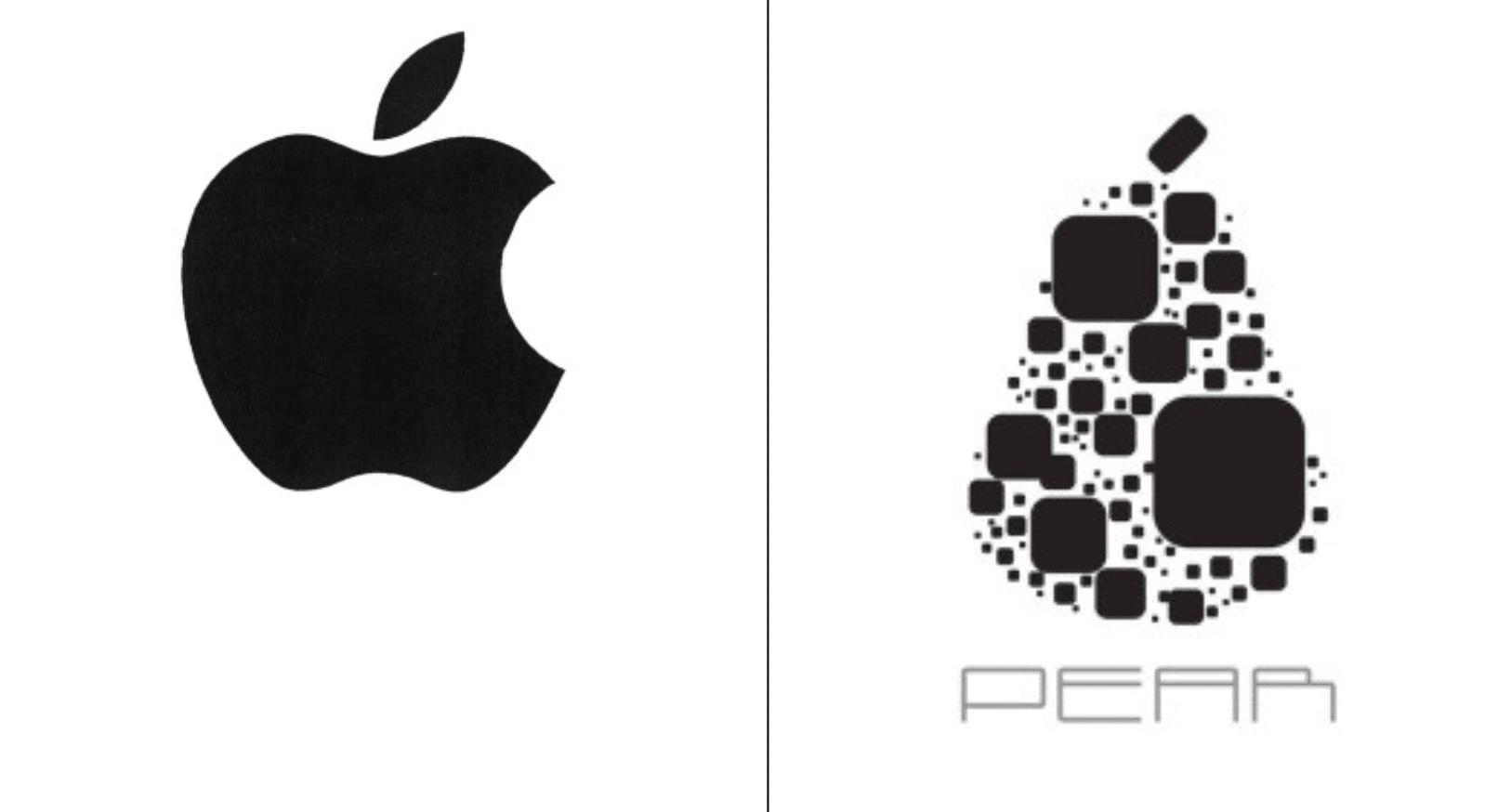 Auch dieser Markeneintrag von Pear wurde nach Apples Einspruch abgelehnt.