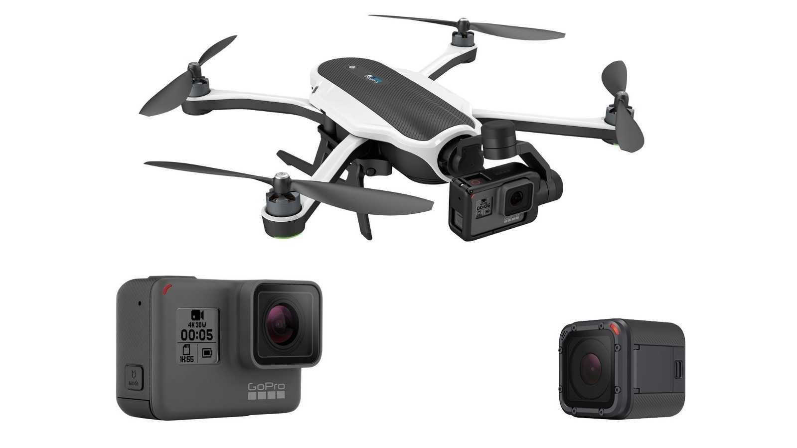 """GoPro: Neue Action-Cam Hero 5 und Quadkopter """"Karma"""""""
