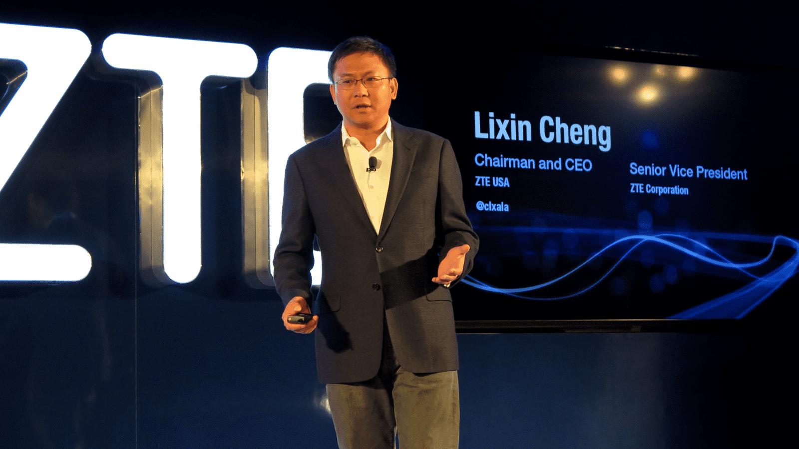 Lixin Chen, CEO ZTE USA