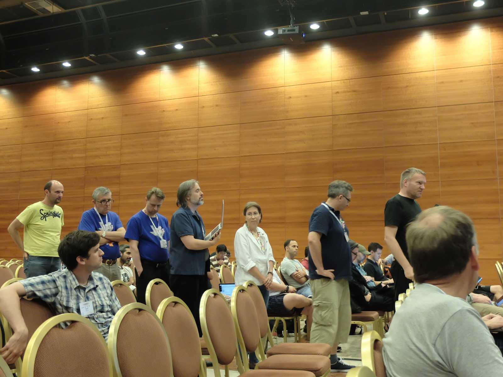 Quic-Diskussion beim IETF-Treffen Juli 2015