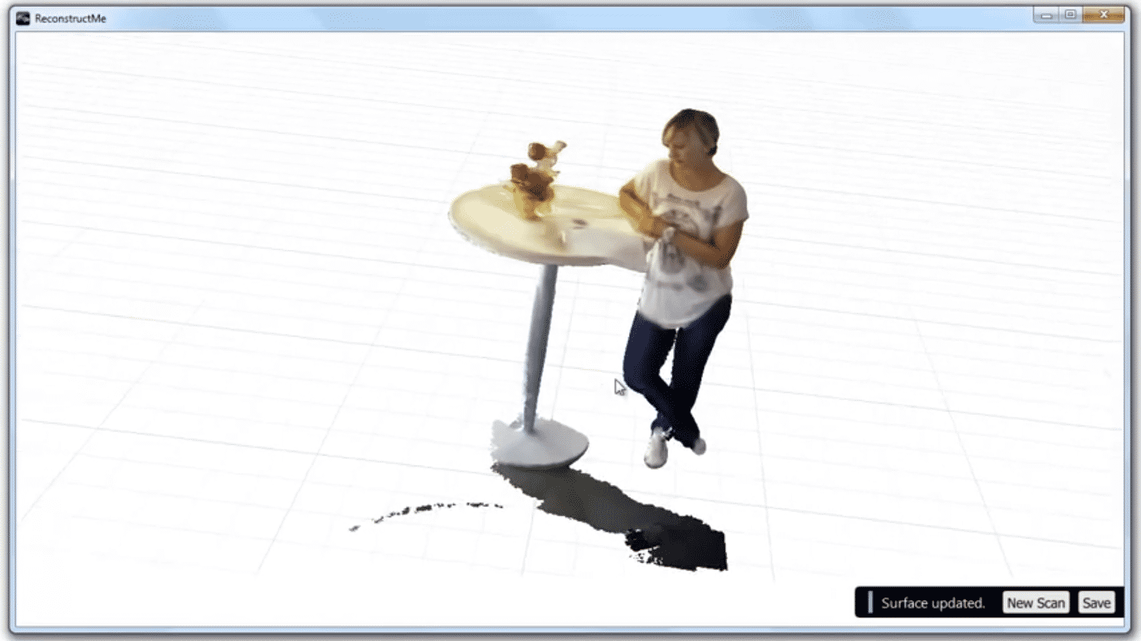 3D-Scan-Software ReconstructMe