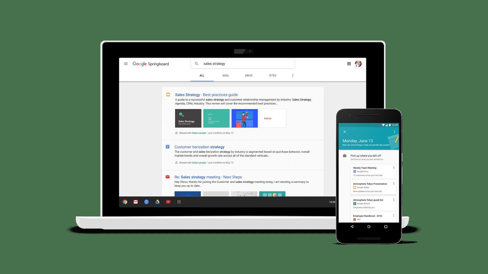 Springboard & Sites: Neue Dienste von Google für Unternehmen