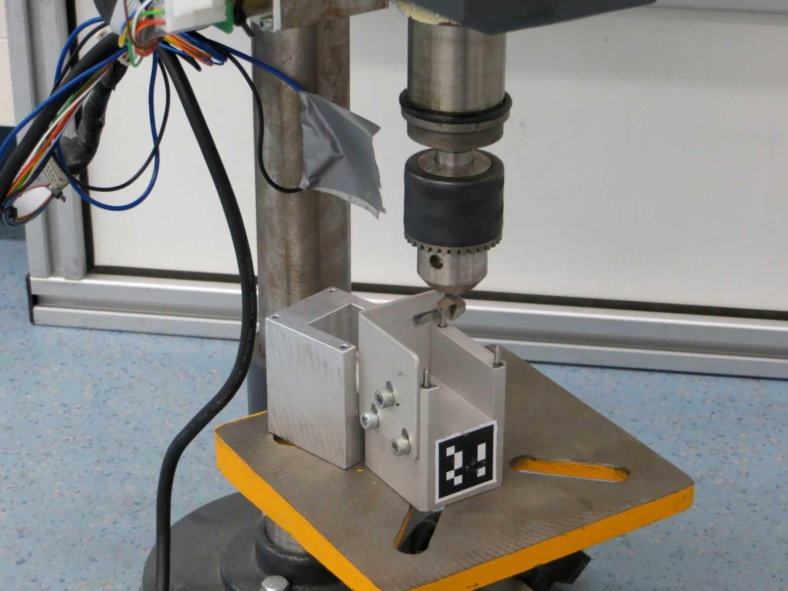 Herausforderung Bohrmaschine