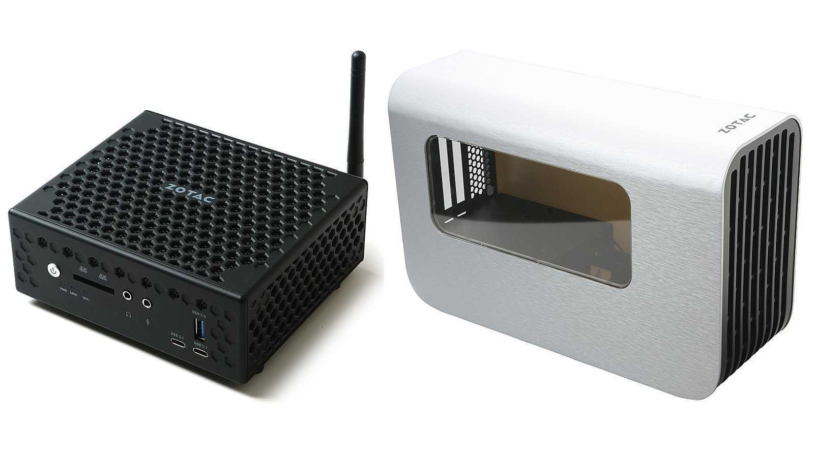 Zotac ZBox CI549 Nano und Graphics Dock
