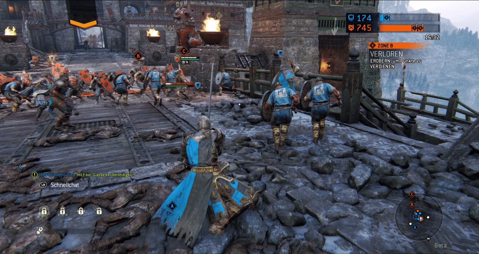 Spielszene aus For Honor