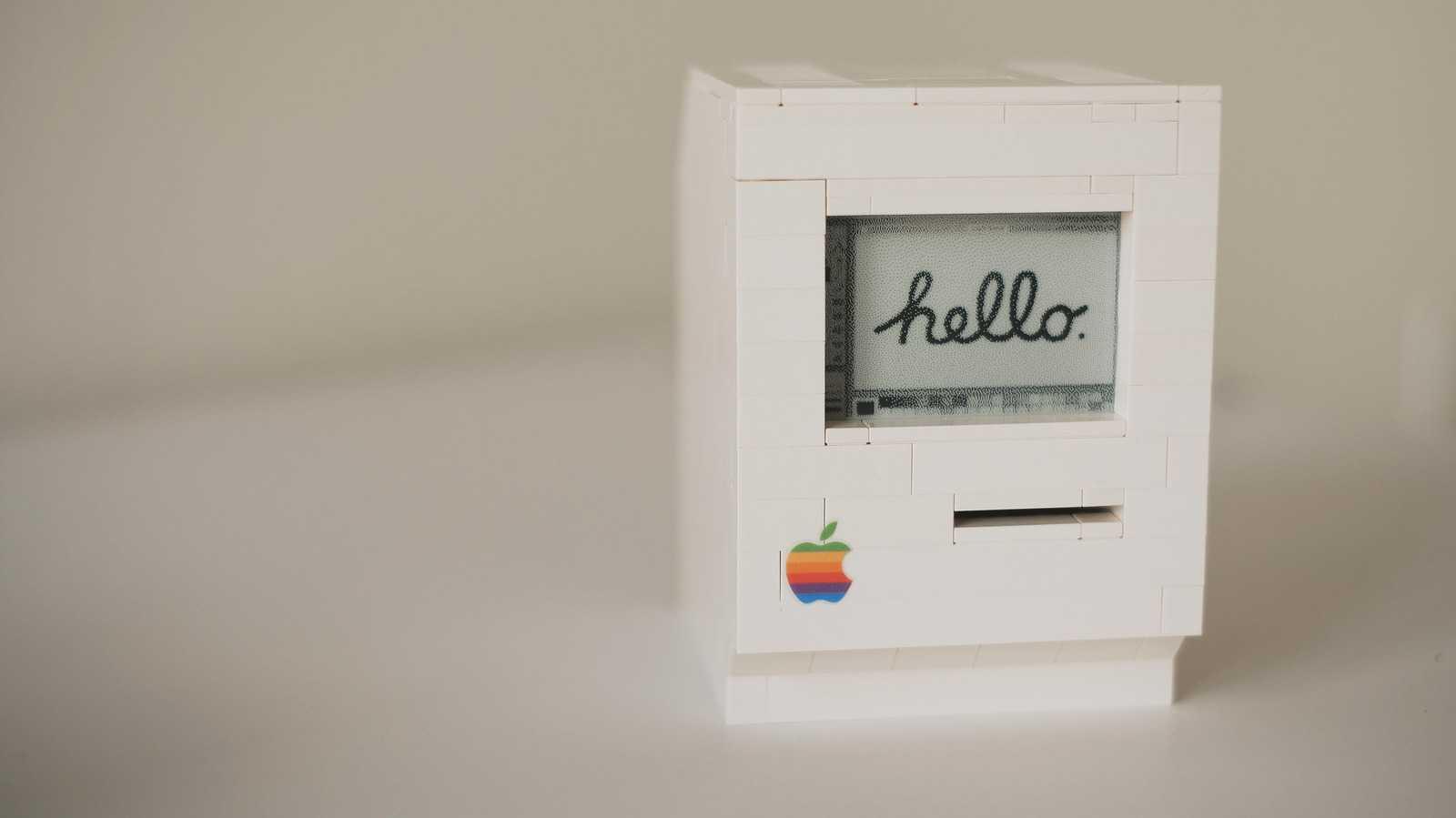 Macintosh-Computer aus Lego