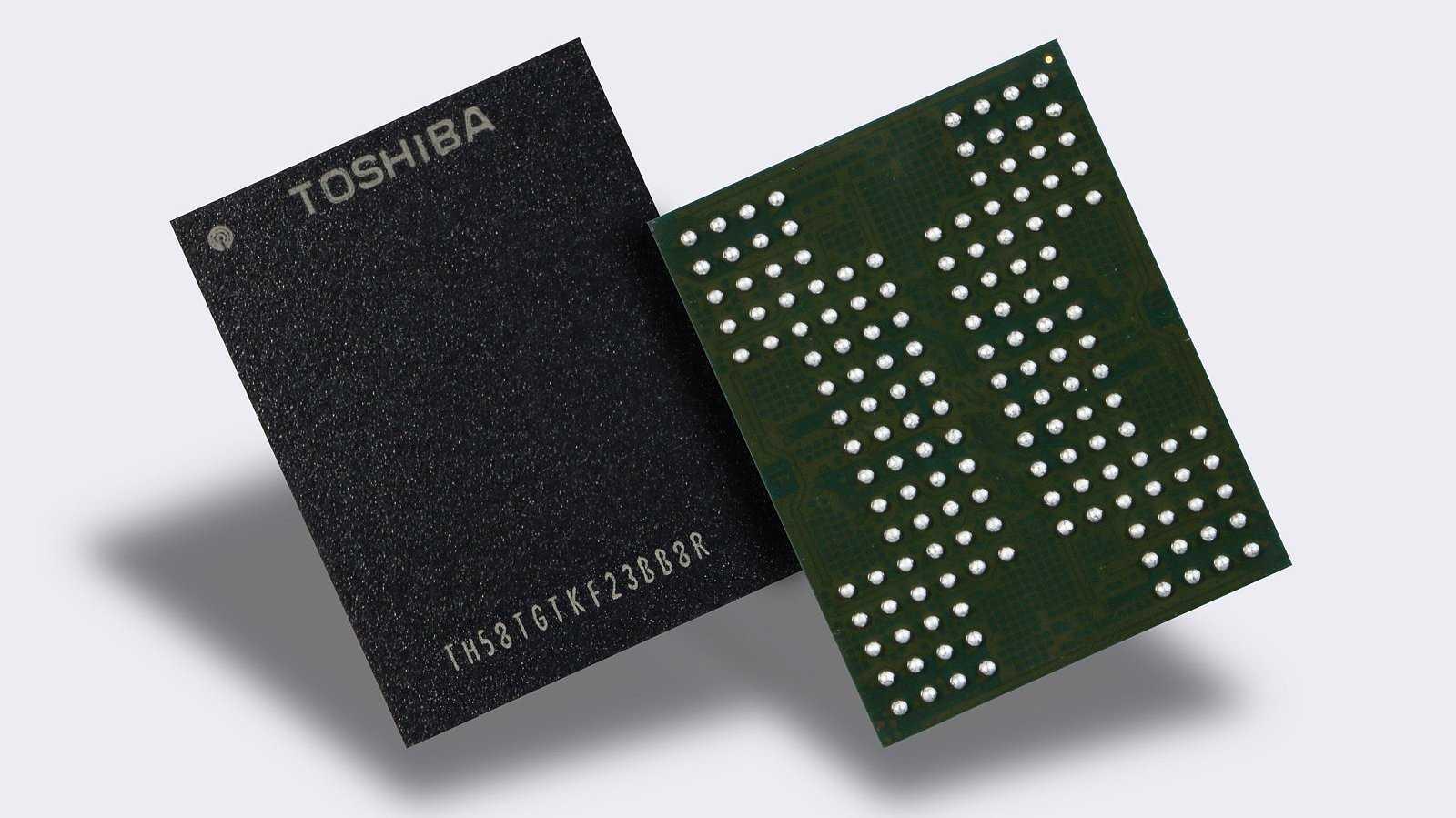 Toshiba QLC 3D NAND Flash
