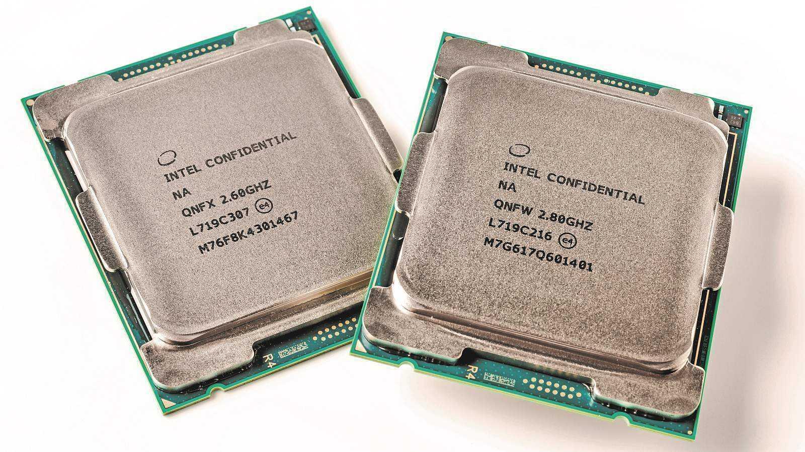 Intel Core i9-7980XE und Core i9-7960X