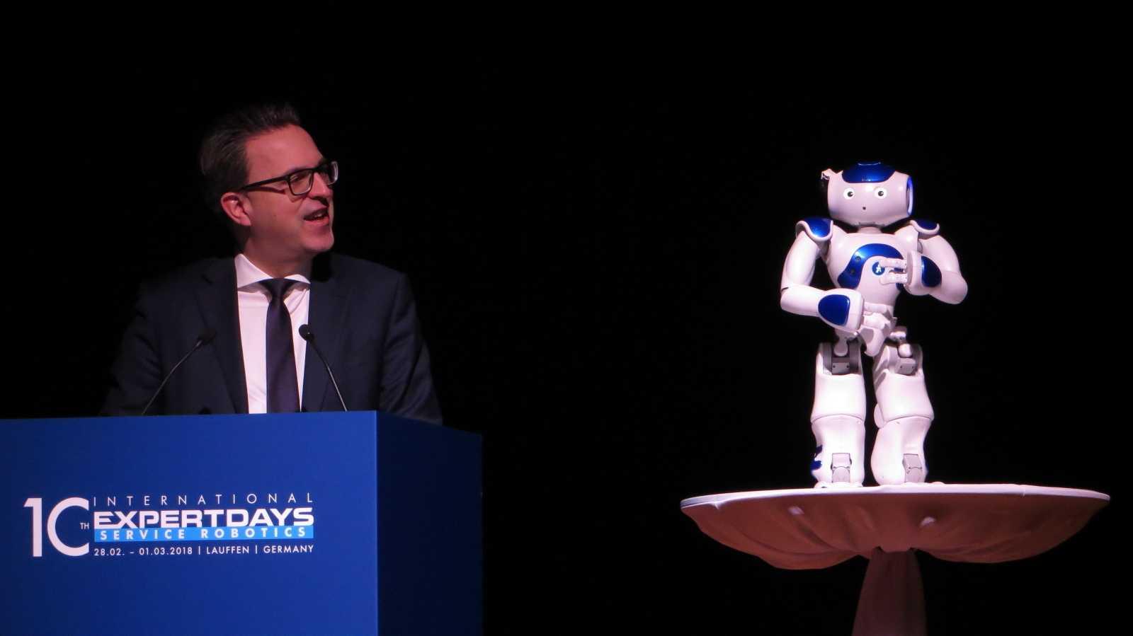 Expert Days: Die Herausforderungen der Zusammenarbeit von Mensch und Roboter