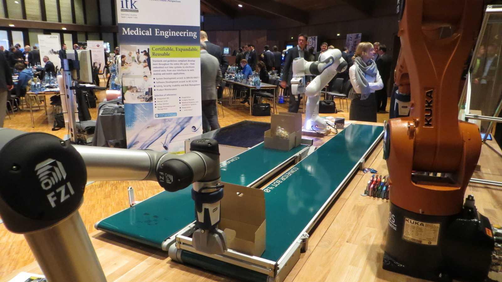 Expert Days: Roboterfirmen auf Partnersuche