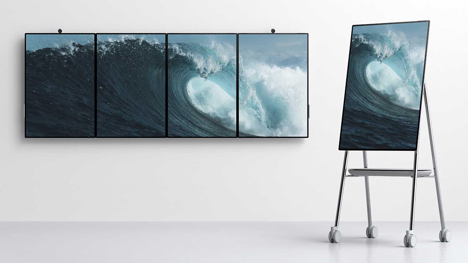 Tablet mit 50-Zoll-Display: Microsoft kündigt Surface Hub 2 an