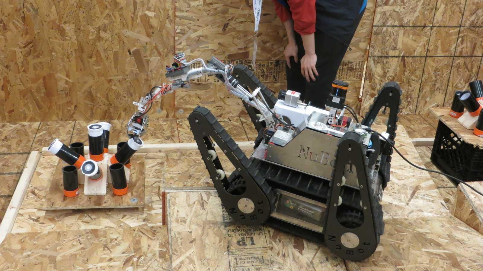RoboCup-WM: Die Wettbewerbe für Rettungsroboter