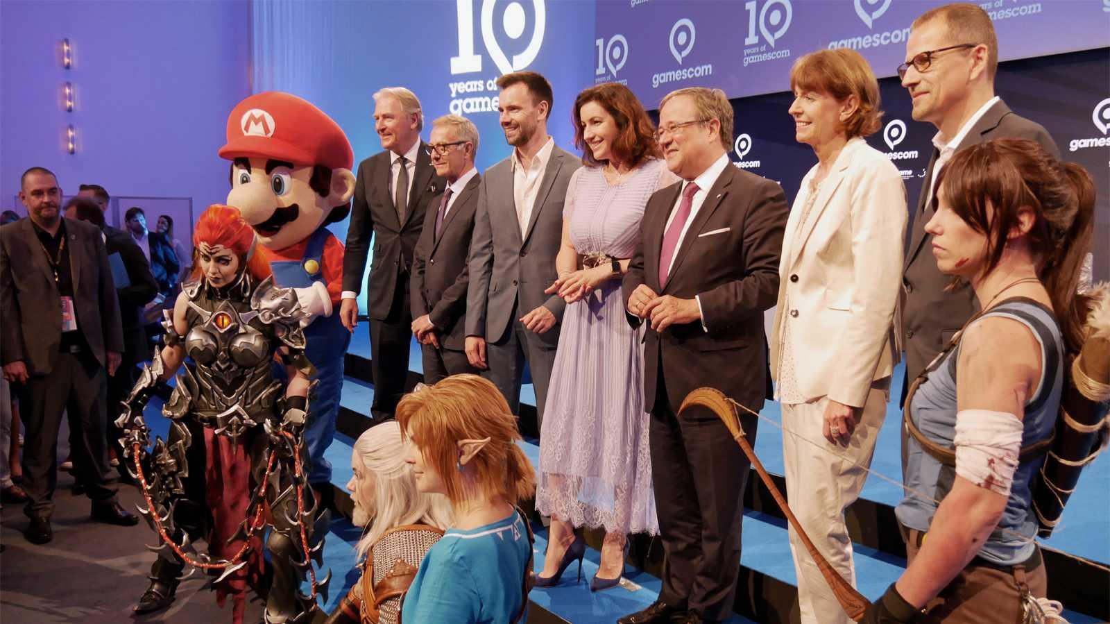 Gamescom-Eröffnung: Kulturgüter und Weltpremieren