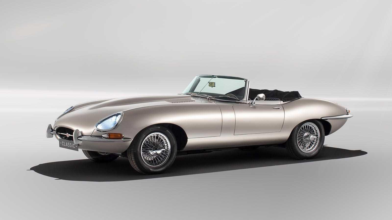 Elektroauto: Jaguar elektrifiziert seinen Klassiker E-Type