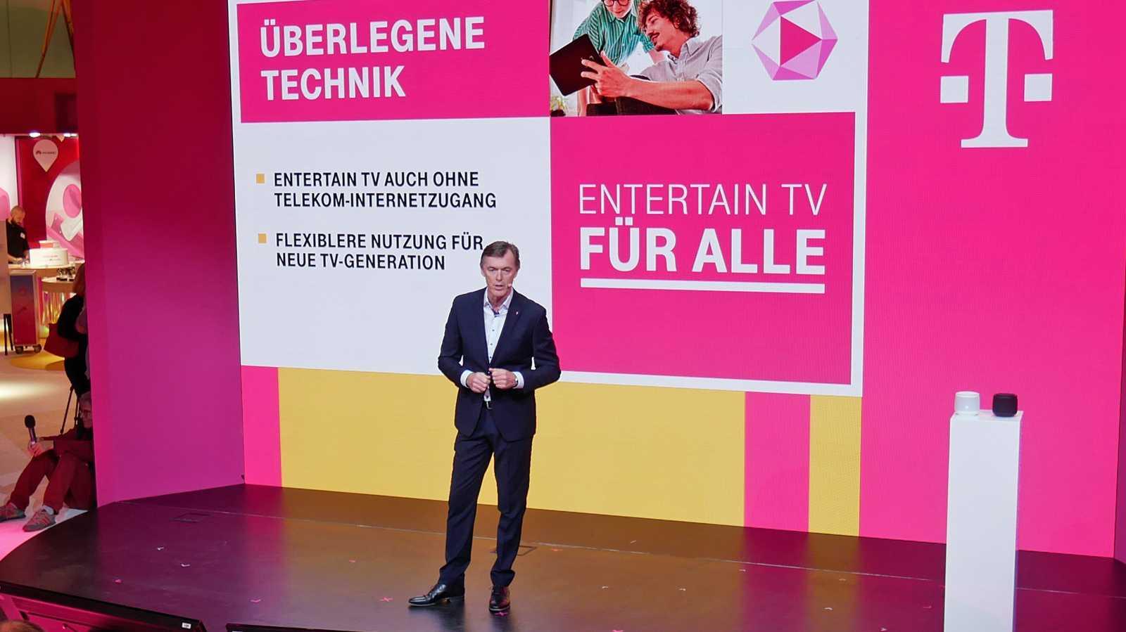 Telekom öffnet EntertainTV für alle
