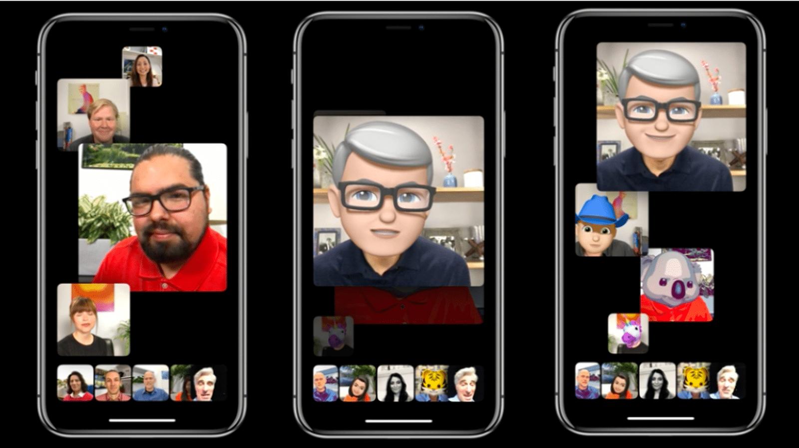 Gruppen-FaceTime nur für bestimmte iPhones und iPads