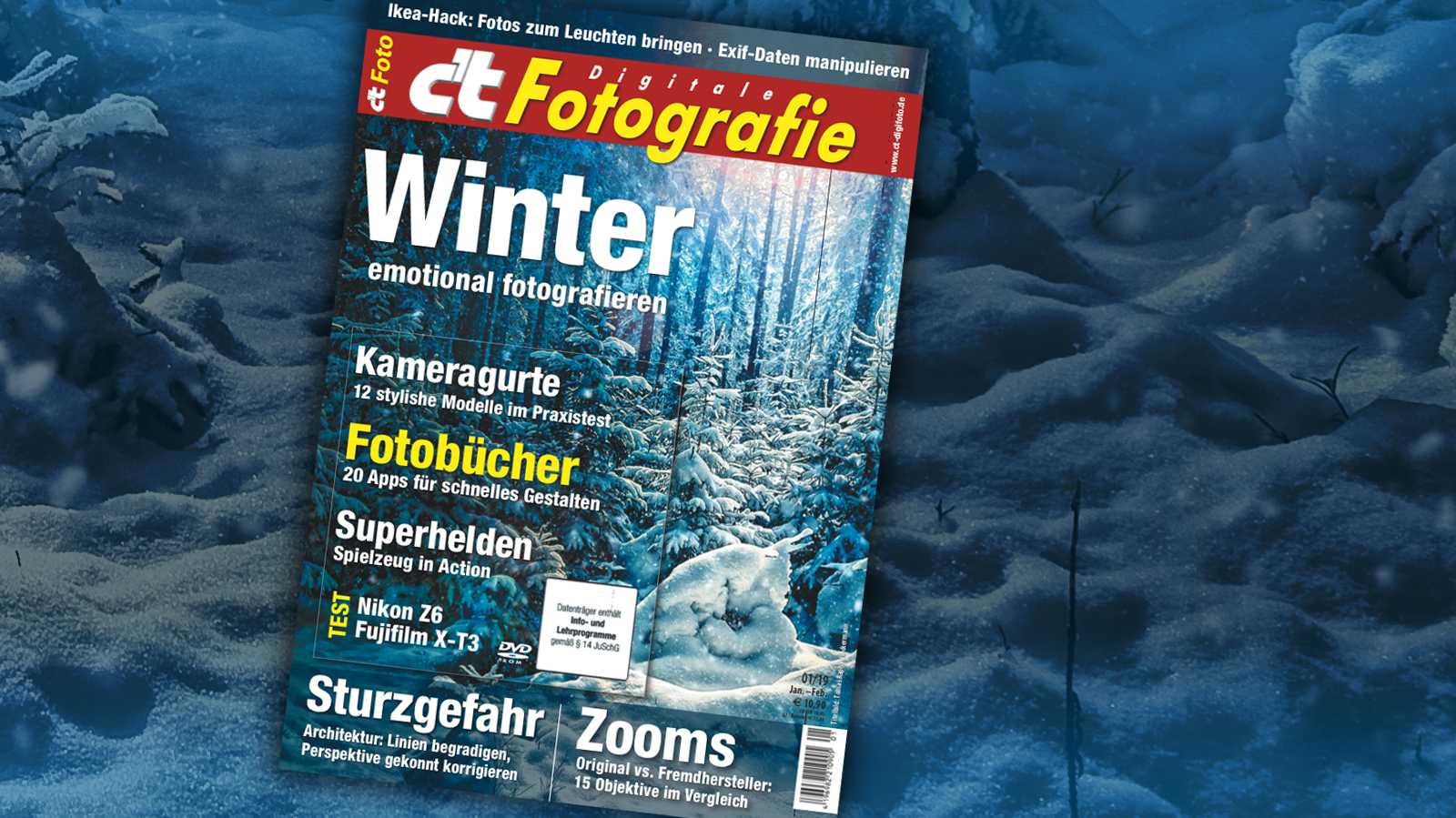 c't Fotografie: Den Winter fotografieren