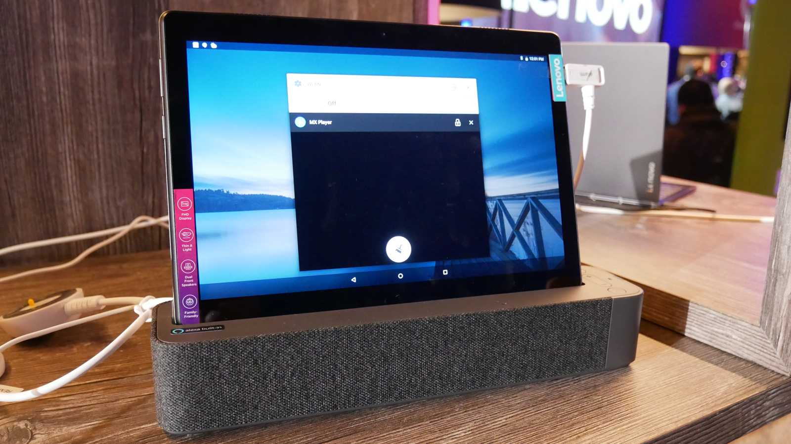 Lenovo Smart Tabs: Android meets Alexa