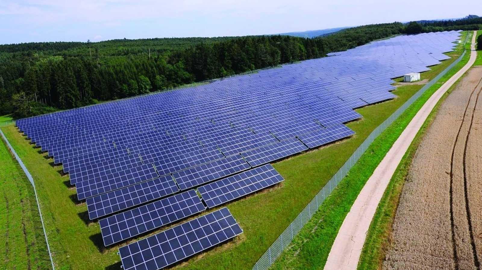 Solarenergie: EnBW will größten Solarpark Deutschlands bauen