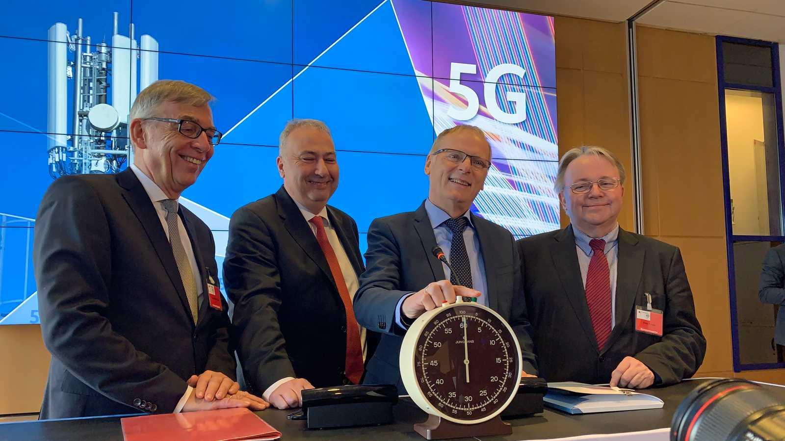 5G-Frequenzversteigerung gestartet