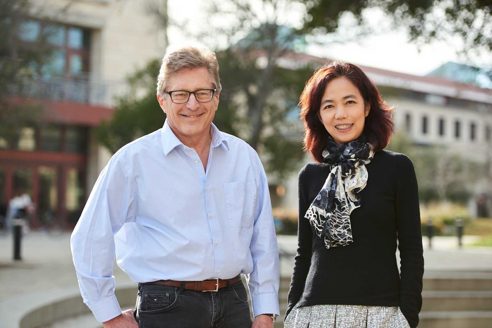 John Etchemendy und Fei-Fei Li