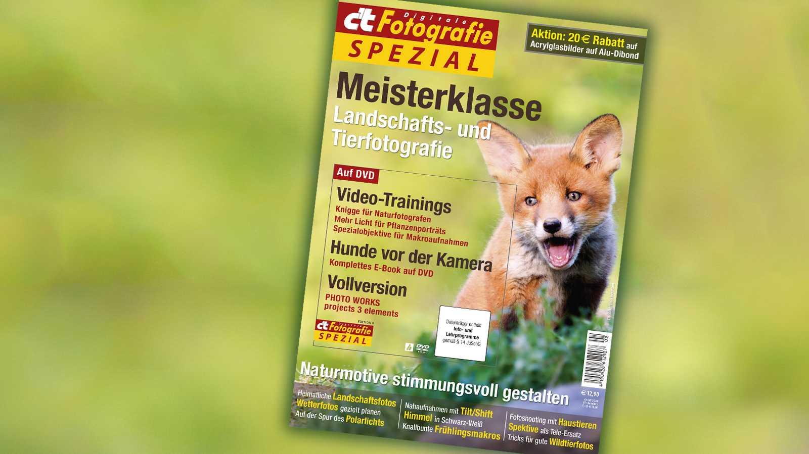 c't Fotografie Meisterklasse Landschafts- und Tierfotografie