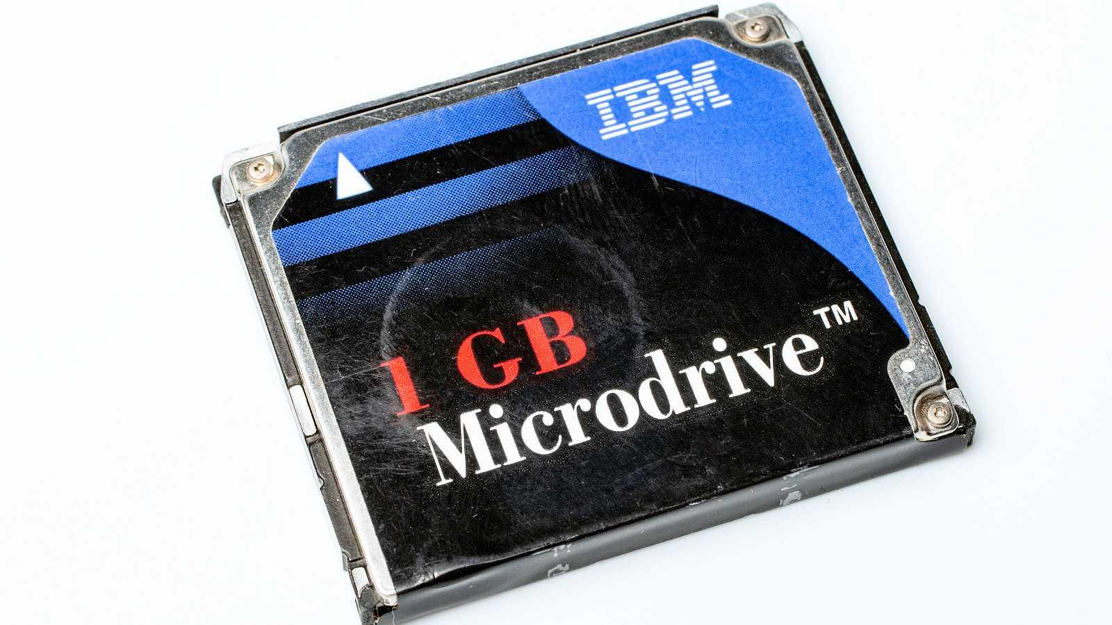 20 Jahre IBM MicroDrive: Speicher für die Nische