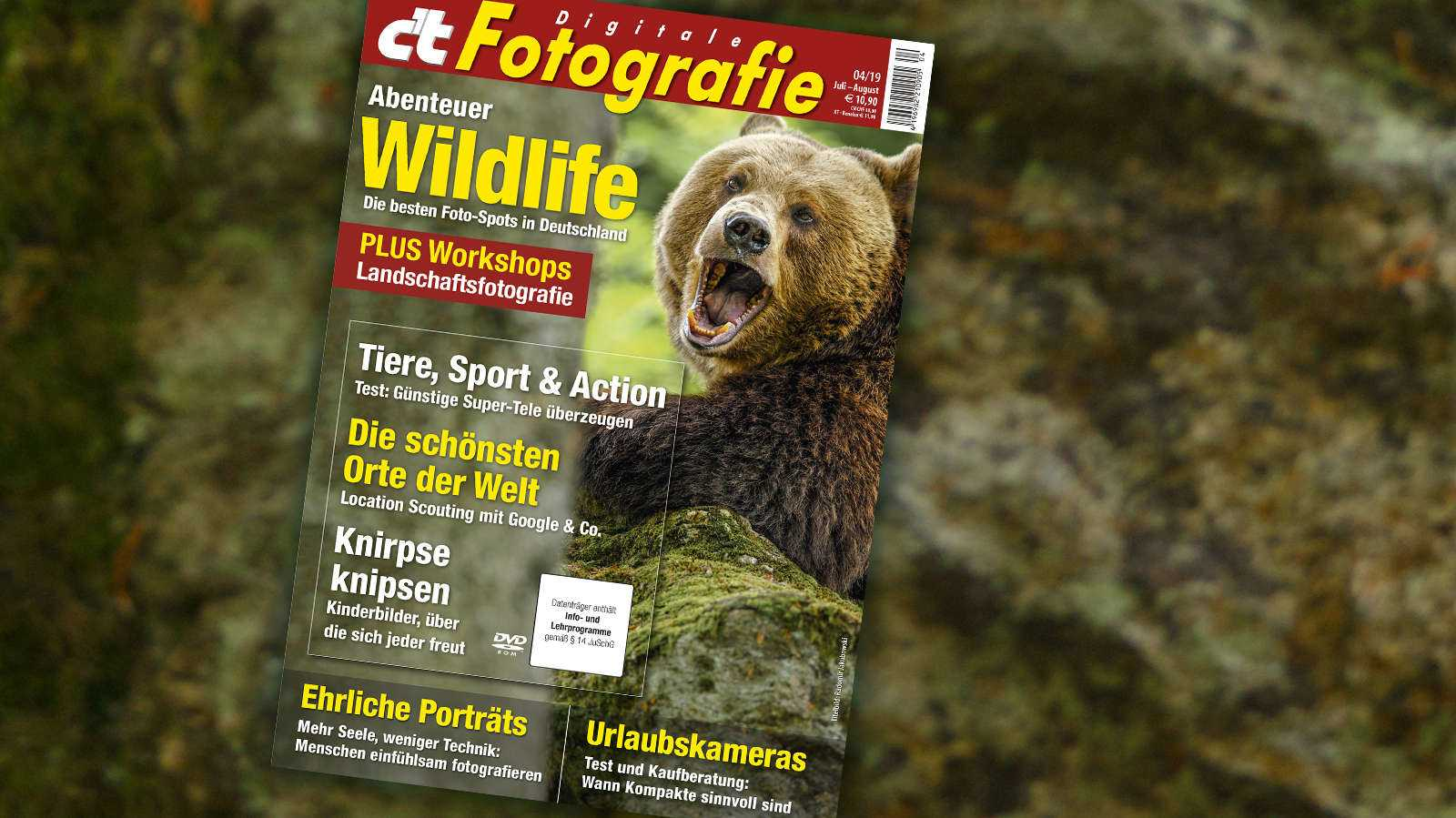 c't Fotografie 04/2019: Digitales Locations-Scouting