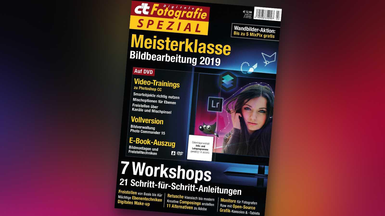 c't Fotografie Meiterklasse Bildbearbeitung 2019