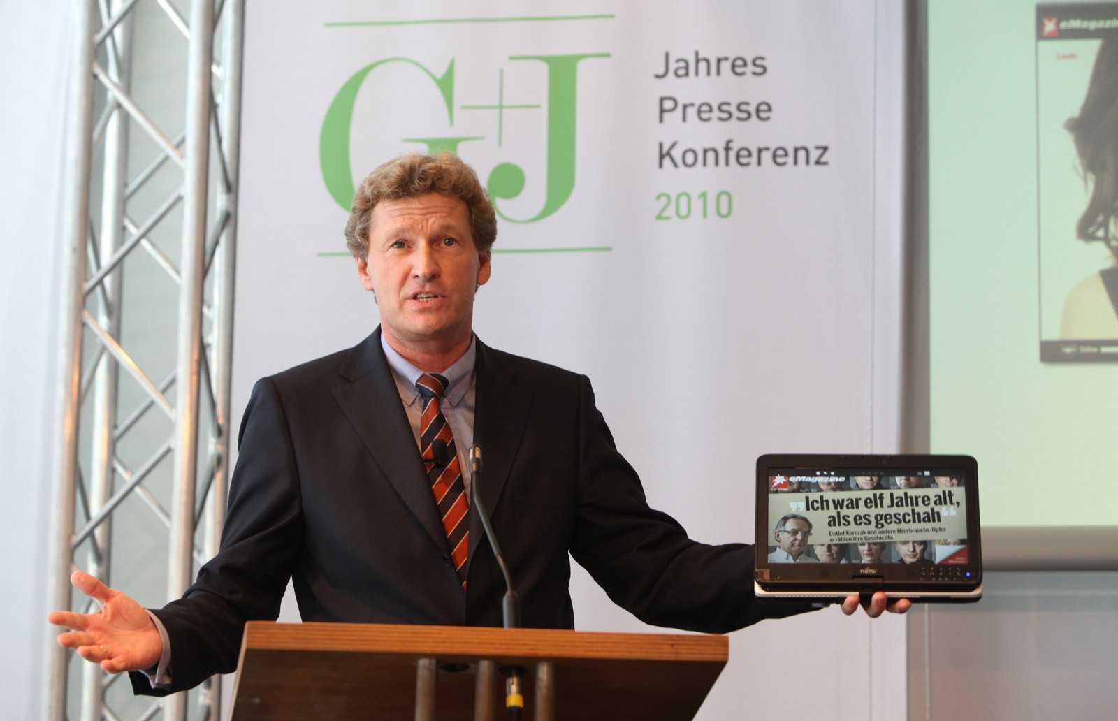 Bernd Buchholz, Vorstandschef von Gruner + Jahr