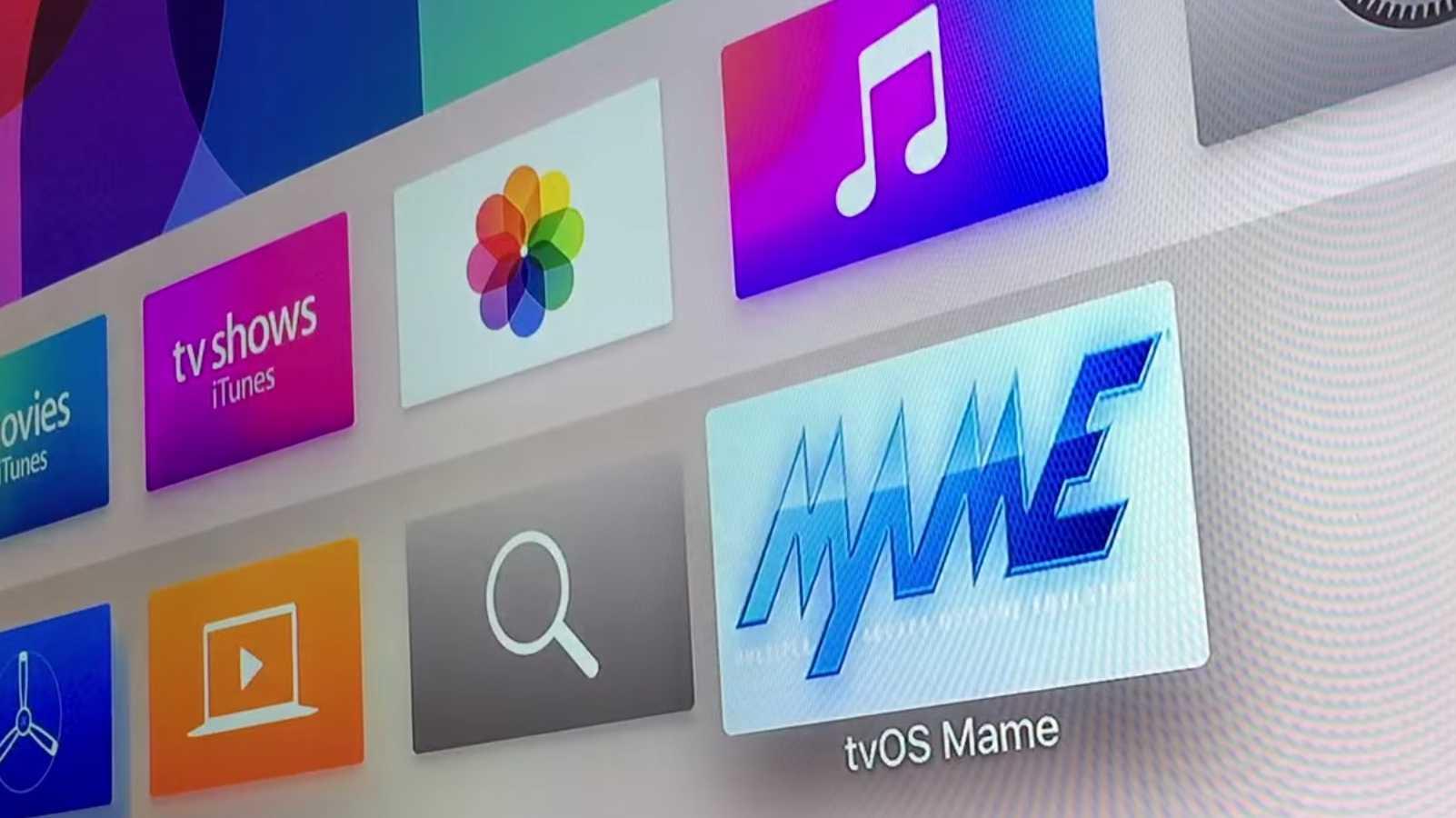MAME Emulator läuft auf tvOS