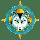Wolfskopf in Fadenkreuz
