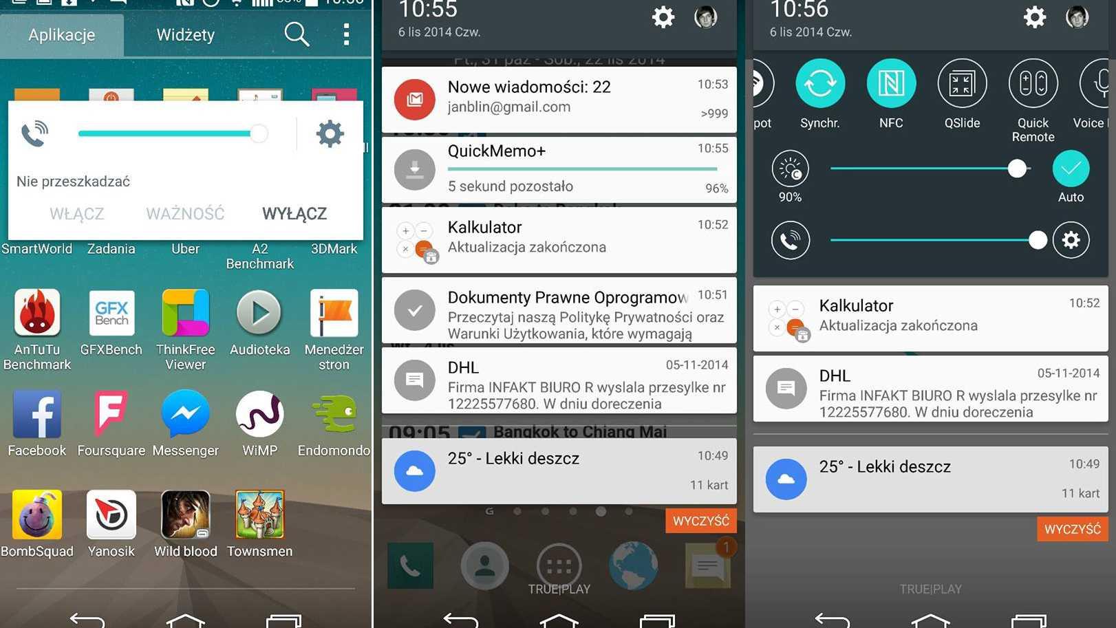 LG liefert Lollipop-Update für sein G3-Smartphone aus