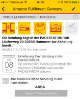 Durch eine Anfang Juni eingeführte Funktion konnte man die mTAN auch innerhalb der DHL-App anzeigen lassen – ein fataler Fehler.