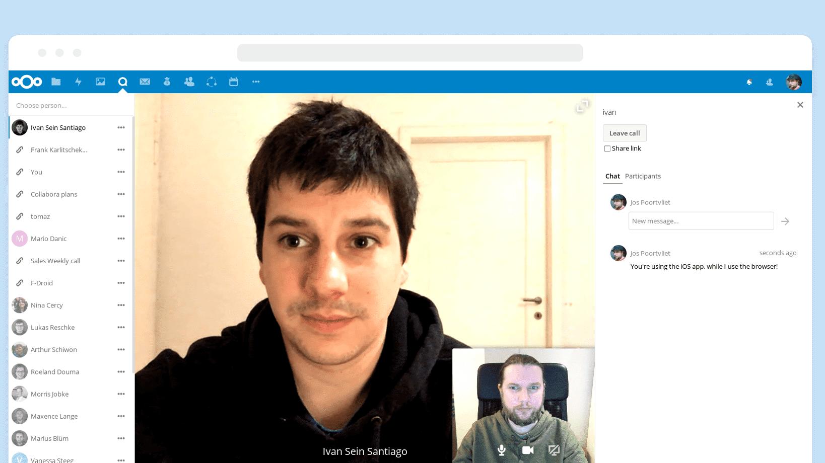 Nextcloud Talk