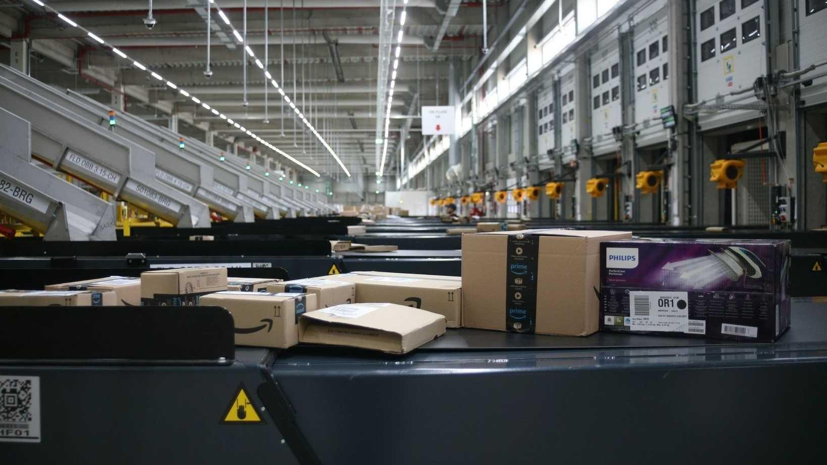 Amazon eröffnet Sortierzentrum