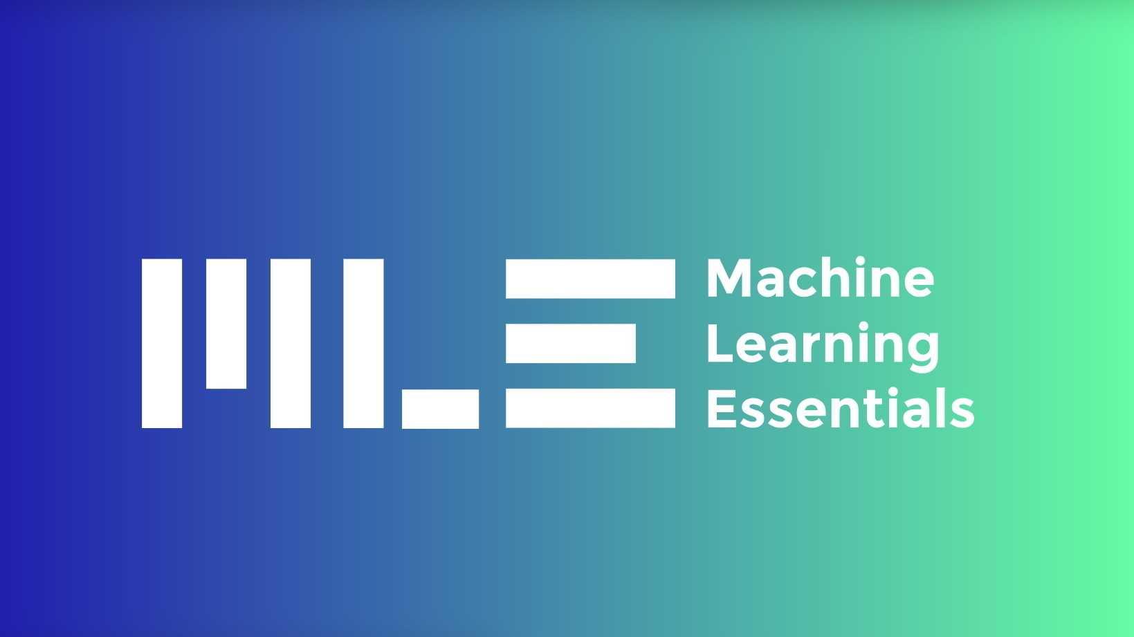 ML-Essentials: Jetzt noch Frühbucherrabatt sichern