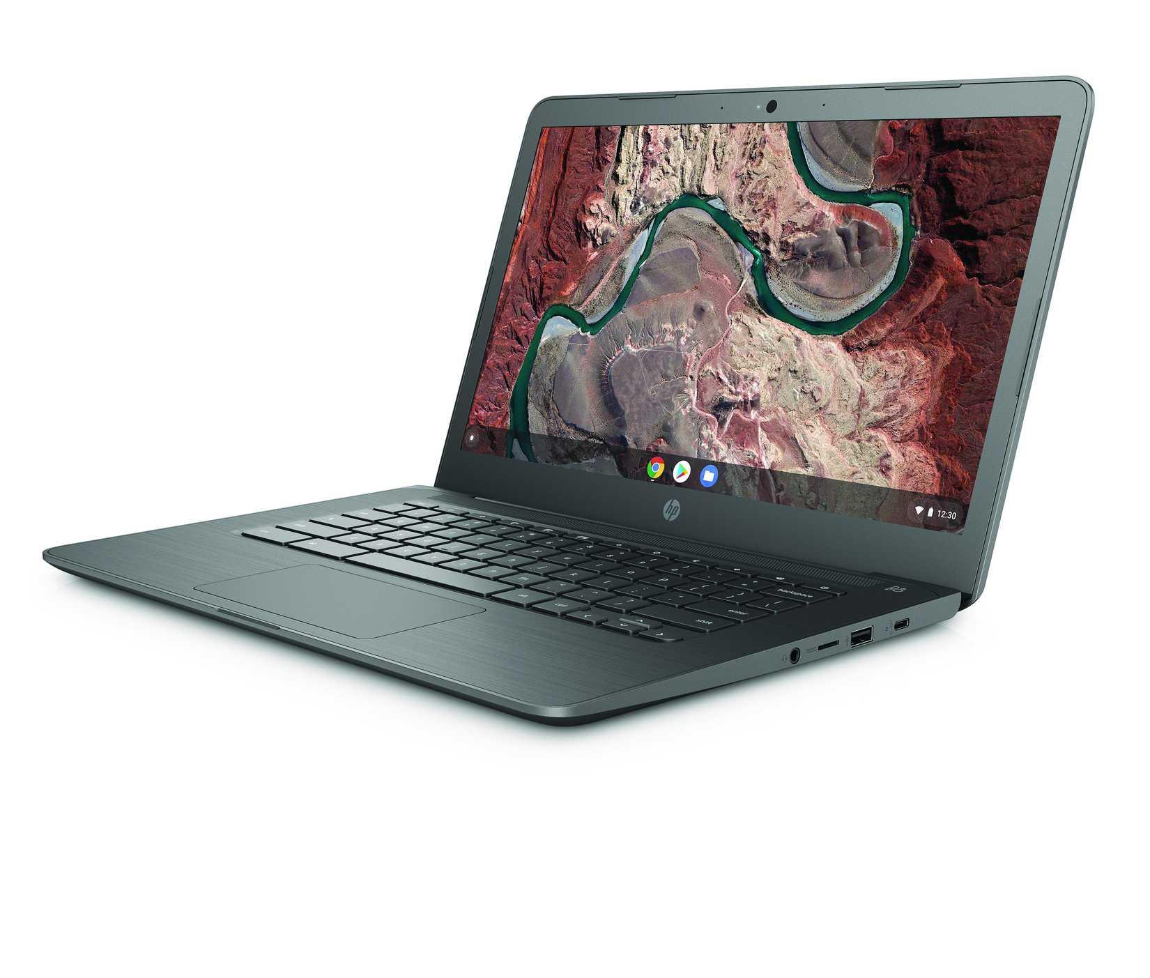Das HP Chromebook 14 wird von einem AMD-Prozessor angetrieben.